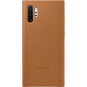 Samsung Kožený zadní kryt pro Galaxy Note10+ béžový (EF-VN975LAEGWW)