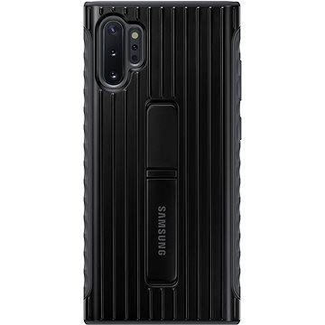 Samsung Tvrzený ochranný zadní kryt se stojánkem pro Galaxy Note10+ černý (EF-RN975CBEGWW)
