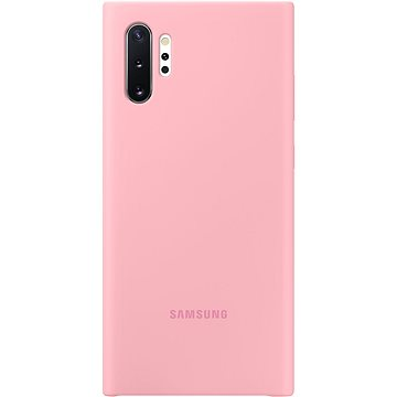 Samsung Silikonový zadní kryt pro Galaxy Note10+ růžový (EF-PN975TPEGWW)