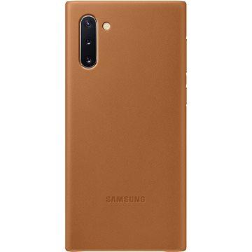 Samsung Kožený zadní kryt pro Galaxy Note10 béžový (EF-VN970LAEGWW)