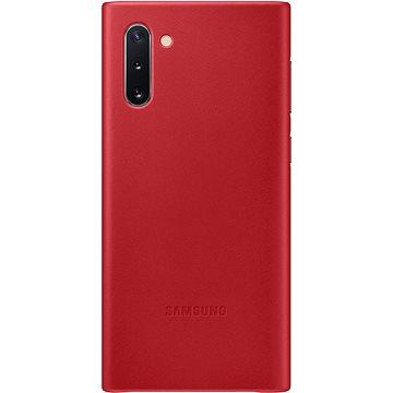 Samsung Kožený zadní kryt pro Galaxy Note10 červený (EF-VN970LREGWW)
