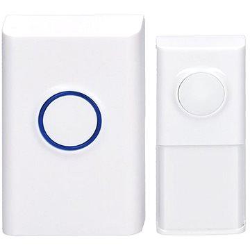 Solight bezdrátový zvonek, do zásuvky, 120m, bílý, learning code (1L55) (1L55)