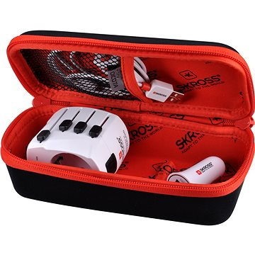 SKROSS Power Case Travel Kit Lightning s pouzdrem (PA49A)