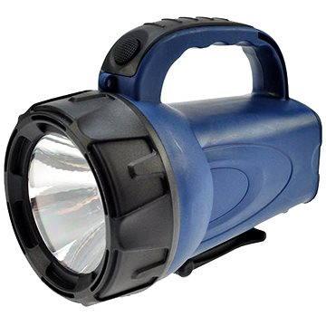 Solight nabíjecí LED svítilna černomodrá (WN16)