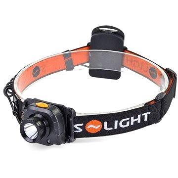 Solight čelová LED svítilna, 3W Cree, senzor (WH20)