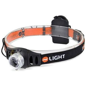 Solight čelová LED svítilna stmívatelná, 3W Cree (WH22)