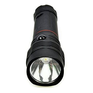 Solight LED svítilna vysouvací, 3W COB + 1W, černá (WL103)