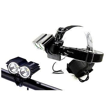 Solight nabíjecí LED cyklo a čelová svítilna (WN19)