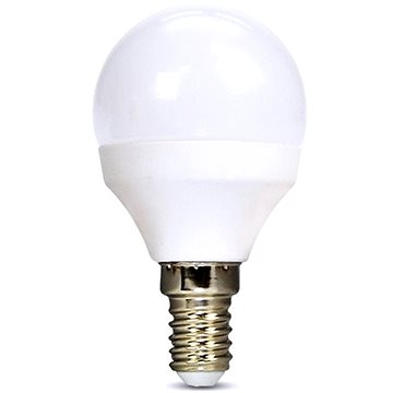 Solight LED žárovka miniglobe E14 6W 3000K (WZ416)