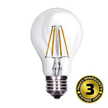 LED žárovka, retro, klasický tvar, 8W, E27, 3000K, 360°, 810lm (WZ501a)