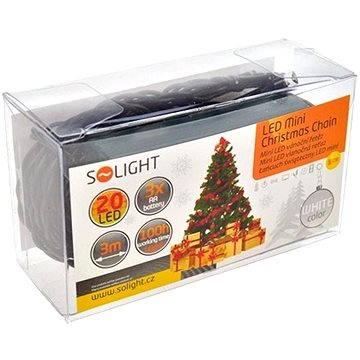 Solight LED řetěz 20 LED, bílá (1V50-W)