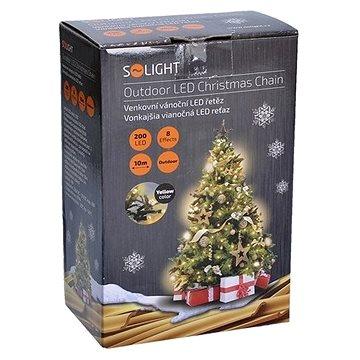 Solight LED venkovní řetěz 200 LED, teplá bílá (1V06-WW)