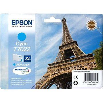 Epson T7022 XL azurová (C13T70224010)