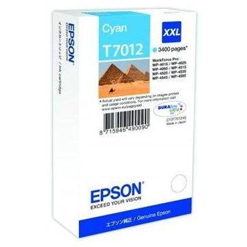 Epson T7012 XXL azurová (C13T70124010)
