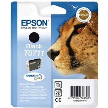 Epson T0711 černá (C13T07114012)
