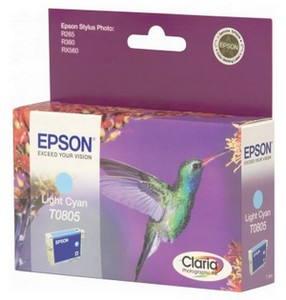 Epson T0805 světlá azurová (C13T08054011)