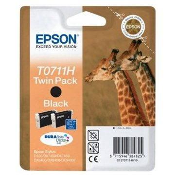 Epson T0711H double pack černá (C13T07114H10)