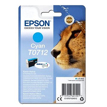 Epson T0712 azurová (C13T07124012)