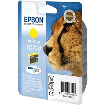 Epson T0714 žlutá (C13T07144012)