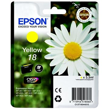 Epson T1804 žlutá (C13T18044012)