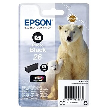 Epson T2611 černá (C13T26114012)