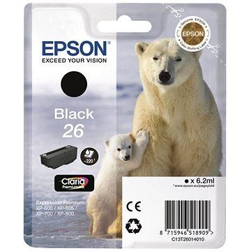 Epson T2621 černá (C13T26214012)