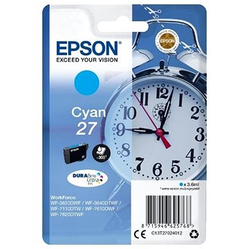 Epson C13T27024010 azurová 27 (C13T27024012)