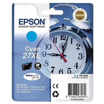 Epson C13T27124010 azurová 27XL