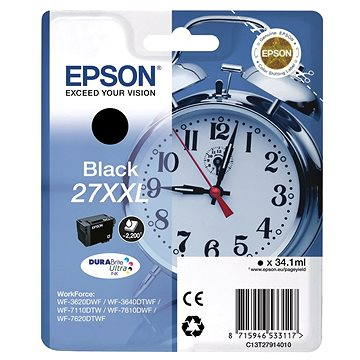 Epson C13T27914010 černá 27 XXL