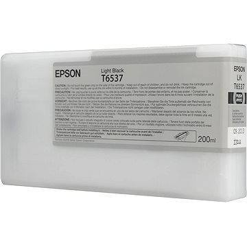 Epson T6537 světle černá (C13T653700)