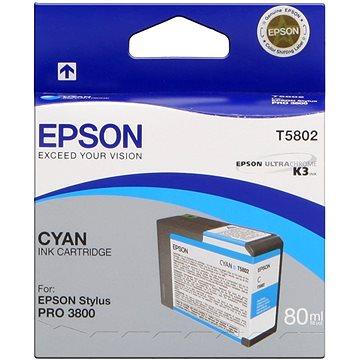 Epson T580 azurová (C13T580200)
