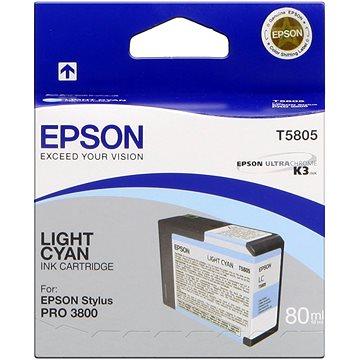 Epson T580 světlá azurová (C13T580500)