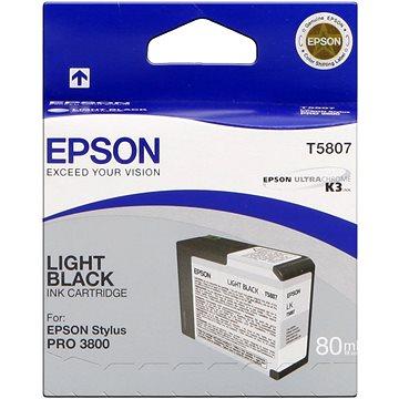 Epson T580 světlá černá (C13T580700)