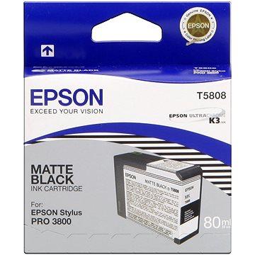Epson T580 matná černá (C13T580800)