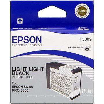 Epson T580 světle světlá černá (C13T580900)