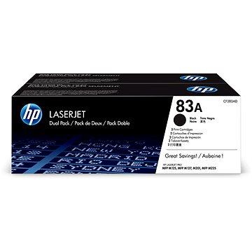 HP CF283AD č. 83AD dual pack černý (CF283AD)