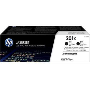 HP CF400XD č. 201X Dual Pack černý 2ks (CF400XD)