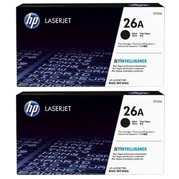 HP CF226A č. 26A černý 2ks (2xCF226A)