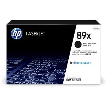 HP CF289X č. 89X černý (CF289X)