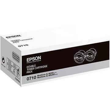 Epson S050710 Dual Pack černý 2ks (C13S050710)