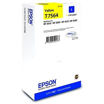 Epson T7564 L žlutá (C13T756440)
