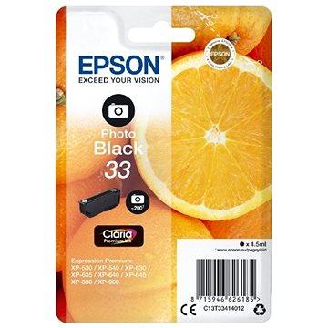 Epson T3341 foto černá (C13T33414012)