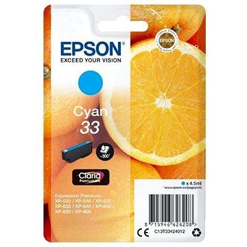 Epson T3342 azurová (C13T33424012)