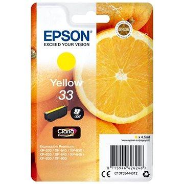 Epson T3344 žlutá (C13T33444012)