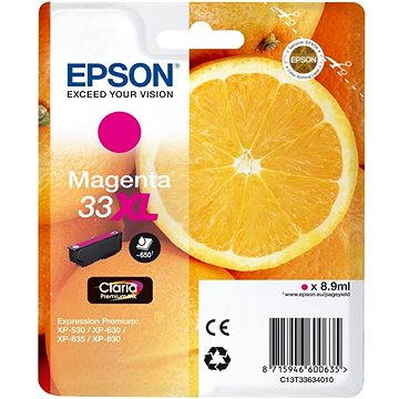 Epson T3363 single pack XL (C13T33634012)