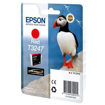 Epson T3247 červená (C13T32474010)