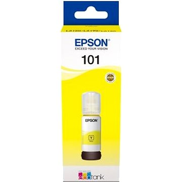 Epson 101 EcoTank Yellow ink bottle žlutá (C13T03V44A)