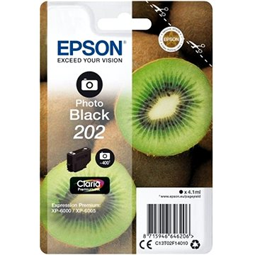 Epson 202 Claria Premium foto černá (C13T02F14010)