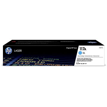 HP W2071A č. 117A azurový (W2071A)