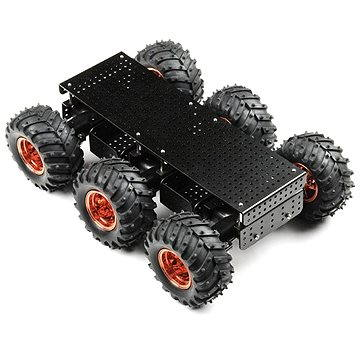 SparkFun Wild Thumper 6WD Chassis - Black (34:1 gear ratio) (ROB-11056)